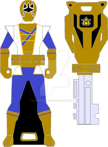 File:Super shinken gold ranger key by signaturefox2013-d8g3le1.png