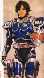 Kaito in G3-X Suit