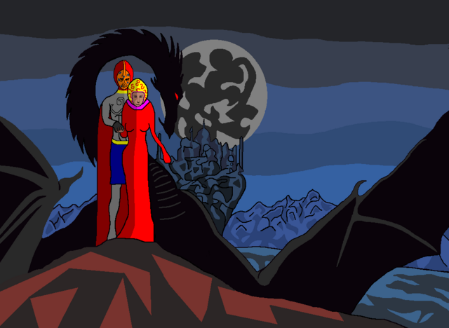 File:The Black Dragon and Dr. Carnation with Lady Haarp.png
