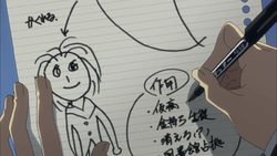 Keima's bad Drawing