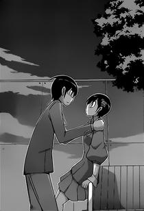Approaching Chihiro...