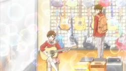Chihiro humming her song