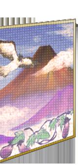 Wall painting of Mt. Fuji