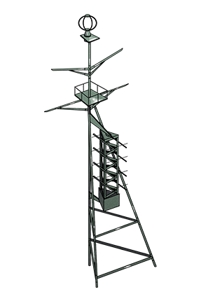 Type 13 Air Radar 027 Equipment