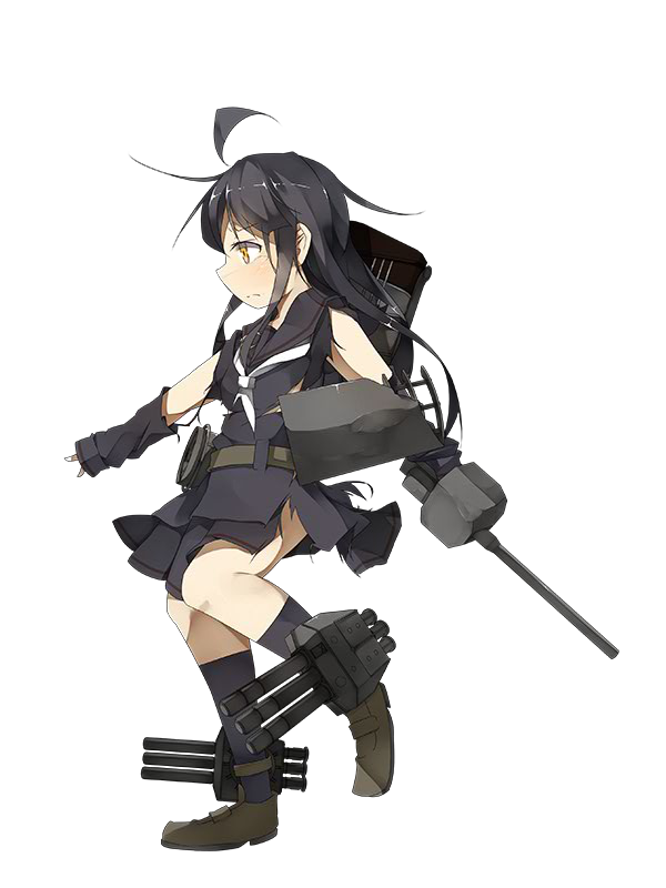 DD Mikazuki 007 Full Damaged