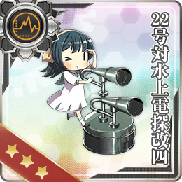Type 22 Surface Radar Kai 4 088 Card
