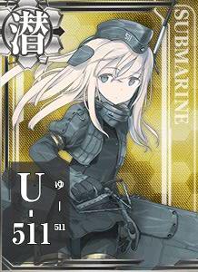 SS U-511 431 Card