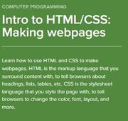Intro to html-css