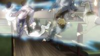 Hirato defeats the hijackers