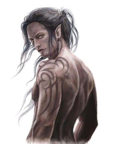 File:Dark elf male by ylafa-d5m0qoy.jpg