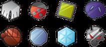 Pokemon johto gym badges by johnriddle20-d36s1l8