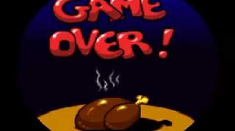 Game Over Alfred Chicken