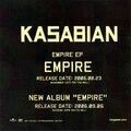 Empire Single Promo CD (Japan) - 3