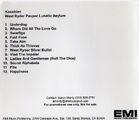 West Ryder Pauper Lunatic Asylum Album Promo CD-R (EMI USA) - 2