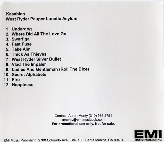 File:West Ryder Pauper Lunatic Asylum Album Promo CD-R (EMI USA) - 2.jpg