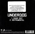 Underdog Black Promo CD - 3