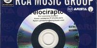 Velociraptor! Album Promo CD-R