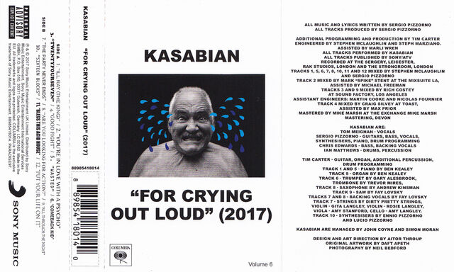 File:For Crying Out Loud Cassette Album (PARADISE97) - 1.jpg