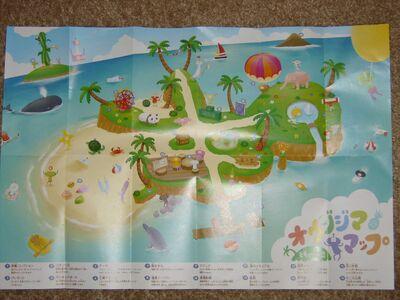 Prince island kids map