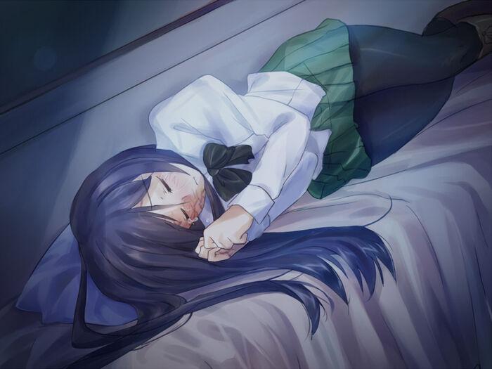 Hanako cry closed