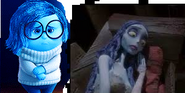 Sadness with Emily Corpse Bride