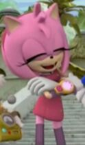 Amy Rose Crossing Her Arms (Sonic Boom Edition) 1