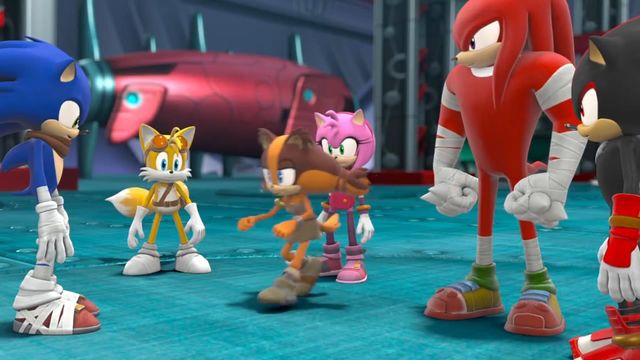 File:Shadow with sonic and his friends.jpg