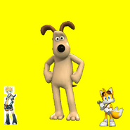 Tails, Len and Gromit
