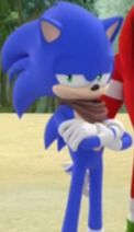 Sonic the Hedgehog Crossing His Arms (Sonic Boom Edition) 2