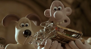 Wallace and Gromit - A Maldicao do Coelhomem - DVDRip - Screen1