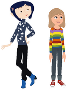 Coraline and Riley