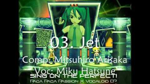 Crossfade Demo Sing on the Perfect! Paca Paca Passion X Vocaloid J-pop EP