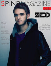 Spinr 002 cover with Zedd