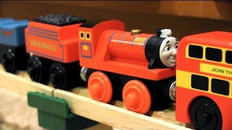 Double-Decker-Wrecker Thomas & Friends Wooden Railway Adventures Episode 199