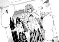 Nanase, Sanae, Midori, Fuyuzora enter