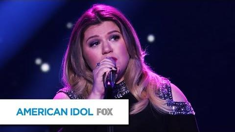"Kelly Clarkson Performs ""Piece by Piece"" - AMERICAN IDOL"