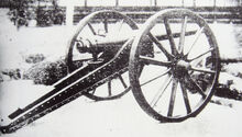Sagahan Armstrong gun used at the Battle of Ueno against the Shogitai 1868