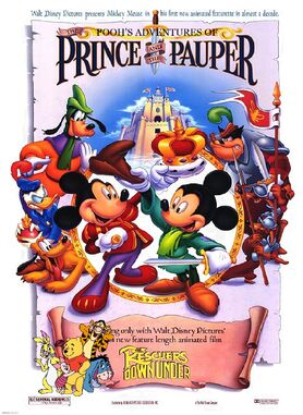 Pooh's Adventures of The Prince and the Pauper Poster