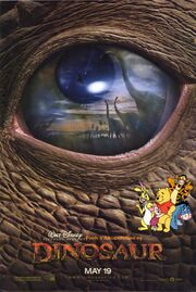Pooh's Adventures of Dinosaur Poster