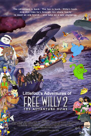 Littlefoot's Adventures of Free Willy 2 The Adventure Home
