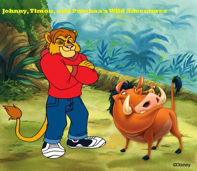 Johnny, Timon, and Pumbaa's Wild Adventures title card