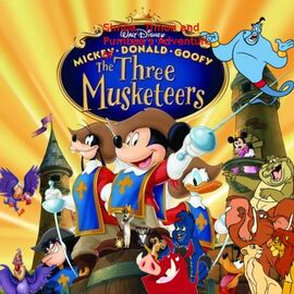 Simba, Timon, and Pumbaa's Adventures of The Three Musketeers