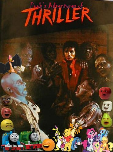 Pooh's Adventures of Thriller Poster
