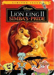 Spongebob's adventures in lion king 2 poster
