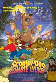 Benny, Leo, and Johnny's adventures of Scooby Doo on Zombie Island Poster