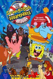 Simba, Timon, and Pumbaa's Advnetures of The SpongeBob SquarePants Movie poster