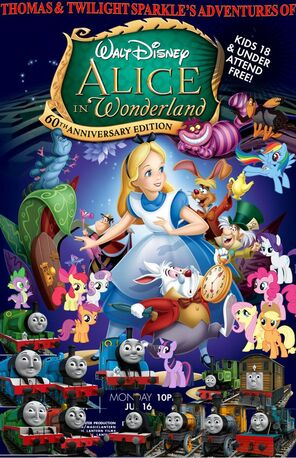 Thomas and Twilight Sparkle's Adventures with Alice in Wonderland (1951)