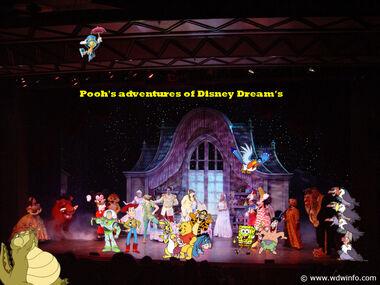 Pooh's adventures of Disney Dream's Poster