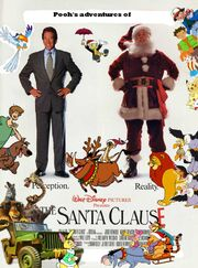 Pooh's adventures of The Santa Clause Poster