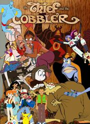 Ash Ketchum meets The Thief and the Cobbler poster